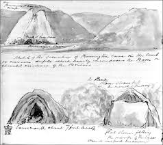 sketch by rev john skinner showing a view of the slab lower