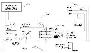 alternator exciter wiring diagram alternator exciter wire diagram