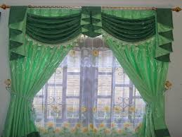 Green Color Curtains Decoration How To Make Your Own Curtains For Your Home