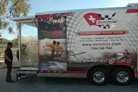 mobile garage flooring showroom