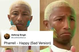 Pharrell Meme - pharrell played holi with ranveer singh but he wasn t happy and didn