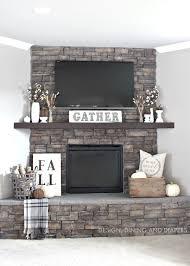 lavender clouds my fall fireplace decor idolza