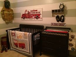 Firefighter Crib Bedding Firefighter Nursery Baby Stuff Pinterest Firefighter