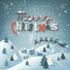 christmas snow globe blue background photoshop free vector