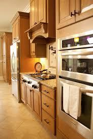beautiful dark brown wood stainless vintage design kitchen cabinet