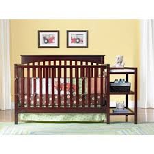 Crib And Changing Table Graco Woodbridge 2 In 1 Fixed Side Crib And Changer Combo Cherry