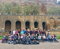 Arizona travel abroad images Study abroad students band together to keep orvieto beautiful ua jpg