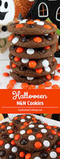 halloween m u0026m cookies recipe