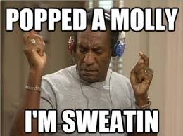 Im Funny Memes - image 488531 popped a molly i m sweatin know your meme