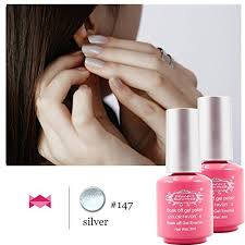 perfect summer uv led soak off gel nail polih set pure colors