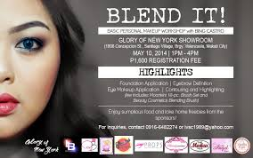 makeup courses nyc blend it basic personal makeup workshop the project awesome