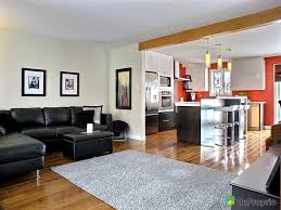salon cuisine aire ouverte peinture salon cuisine ouverte collection avec cuisine moderne