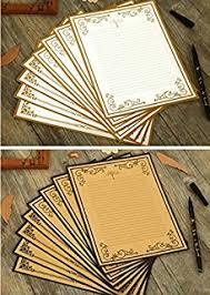 amazon com rancco letter writing paper 60 pcs assorted color