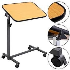 drive medical multi purpose tilt top overbed table amazon com medmobile tilt top overbed table with laminated tall