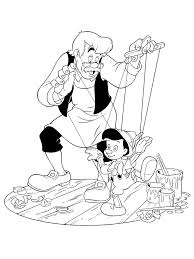 free pinocchio coloring pages coloring pages free