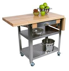 handmade kitchen islands vegetable rack john lewis stainless steel trolley heavy duty tea