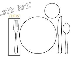 table setting placemat placemat colouring page kids coloring table setting table setting