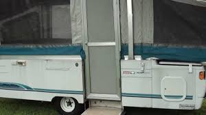 Fleetwood Pioneer Travel Trailer Floor Plans Coleman Fleetwood Pop Up Camper Youtube