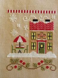 Country Cottage Cross Stitch Cottage Of The Month August Cross Stitch Pattern Cross Stitch