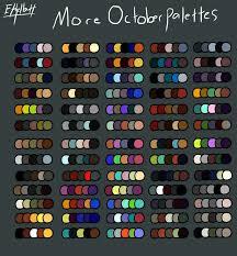 color scheme maker october color palette 2 by ethelbutt on deviantart