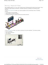 routing pipes and tubes software system software