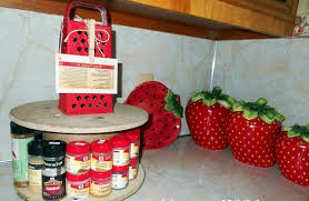 ideas for strawberry kitchen decor that including images modern