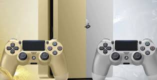 Ps 4 Ps4 Slim 500 Gb Gold Original Garansi Resmi Sony Pes 2018 gold and silver playstation 4 slim models set to arrive later this month