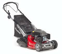 mountfield s501r pd self propelled rear roller petrol lawn mower