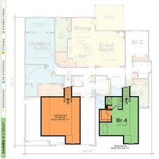 Nursery Floor Plans Gonzales 29335 Traditional Home Plan At Design Basics