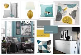 teal livingroom grey teal ochre scheme for a family living room home
