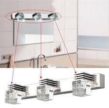 stainless steel modern bathroom fan light fixtures ebay