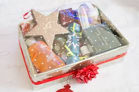 diy christmas beauty hamper u2013 christmas gift ideas ysis lorenna