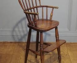 Vintage Cosco High Chair Old Wooden High Chair Designcorner