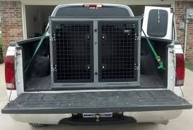 Truck Bed Dog Crate Dog Crates Dog Cages Transk9usa Ford F150