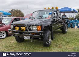 toyota trucks usa long beach usa may 6 2017 toyota truck 1987 on display during