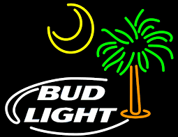 palm tree neon light bud light palm tree with sun neon sign bud light neon beer signs
