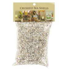 akasha accents home decor accents crushed shell mix akasha