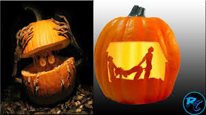 crazy pumpkin carvings ideas for halloween youtube