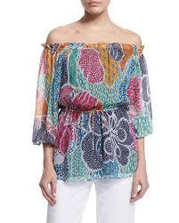 diane von furstenberg camila flower power dream silk blouse