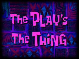 This Is The Part Where The Curtain Falls Lyrics The Play U0027s The Thing Transcript Encyclopedia Spongebobia
