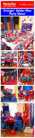 go all out with a power packed spider man birthday themed party