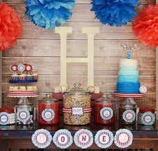 baseball party supplies kara s party ideas home one baseball themed birthday party via