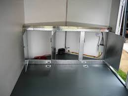 v nose enclosed trailer cabinets who makes cabinets for v nose trailers moto related motocross