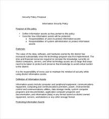 technology proposal template information technology business