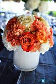 Wedding Flowers Jamaica All White Wedding Centerpiece Done By Helen G Events Jamaica