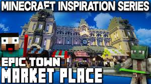 World Of Keralis Map by Minecraft Town Market Keralis Inspiration Series Youtube