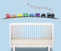 Decoration Baby Nursery Wall Decals by Train Baby Boy Wall Decal Train Over 6 Ft Wide Nursery
