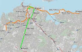 Portland Light Rail Map by Is There A Place For Light Rail In Auckland Greater Auckland