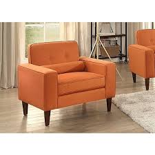 Orange Accent Chair Modern Button Tufted Gray Accent Chair Kirklands