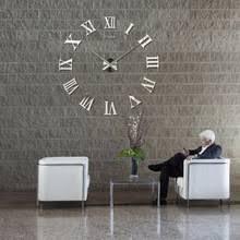 Large Mirrored Wall Clock Popular Big Watch Wall Clock Buy Cheap Big Watch Wall Clock Lots